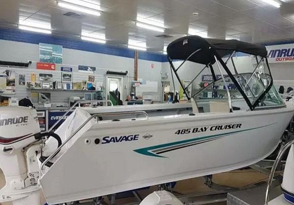 Savage Baycruiser 485 - Don Morton Marine