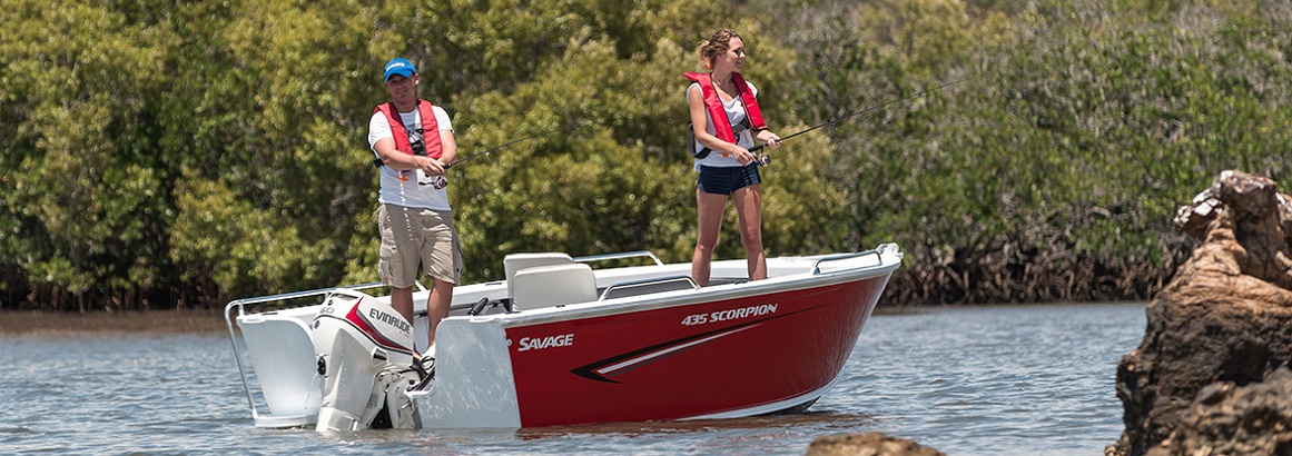 Savage Aluminium Boats